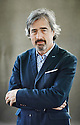 Sebastian Barry novelist and writer  at Edinburgh International Book Festival  Literary Festival  2014 CREDIT Geraint Lewis