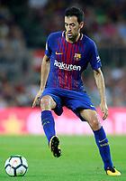 FC Barcelona's Sergio Busquets during Joan Gamper Trophy. August 7,2017. (ALTERPHOTOS/Acero) /NortePhoto.com