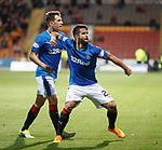 Daniel Candeias scores in extra time and celebrates with Ryan Jack