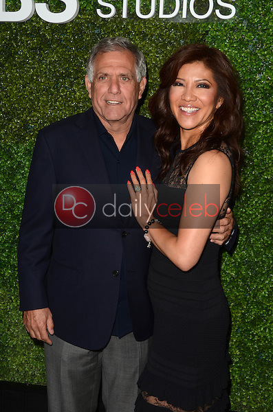 Julie Chen, Leslie Moonves<br />