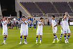 Uzbekistan squad acknowledges the fans after being defeated in the AFC Asian Cup UAE 2019 Group F match between Japan (JPN) and Uzbekistan (UZB) at Khalifa Bin Zayed Stadium on 17 January 2019 in Al Ain, United Arab Emirates. Photo by Marcio Rodrigo Machado / Power Sport Images