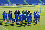 Getafe's team during training session. February 19,2020.(ALTERPHOTOS/Acero)