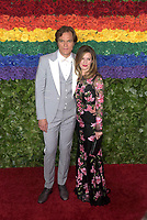 NEW YORK, NEW YORK - JUNE 09: Michael Shannon and wife, Kate Shannon attend the 73rd Annual Tony Awards at Radio City Music Hall on June 09, 2019 in New York City. <br /> CAP/MPI/IS/JS<br /> ©JSIS/MPI/Capital Pictures