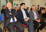 Frank Hayes, Kerry Group, Former Kerry footballer and  Dancing with the Stars winner Aidan OÕMahony and Mayor of Killarney Cllr Brendan Cronin at the opening of the Irish Wheelchair Association new Community Centre at The Reeks Gateway, Killarney on Friday. Picture: macmonagle.com