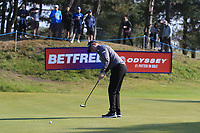 Richard McEvoy (ENG) on the 10th green during Round 3 of the Betfred British Masters 2019 at Hillside Golf Club, Southport, Lancashire, England. 11/05/19<br /> <br /> Picture: Thos Caffrey / Golffile<br /> <br /> All photos usage must carry mandatory copyright credit (&copy; Golffile | Thos Caffrey)