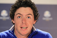 Ryder Cup 2012 Rory McIlroy Interview