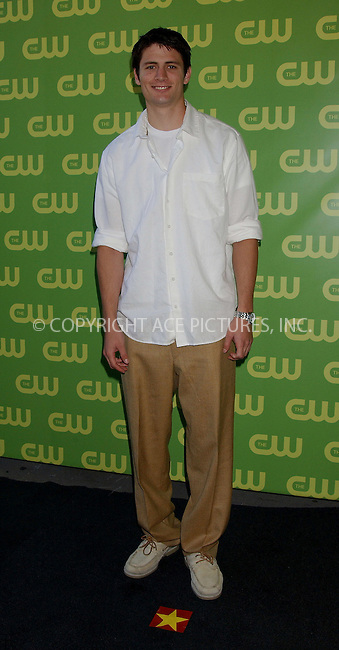 WWW.ACEPIXS.COM . . . . .....NEW YORK, MAY 18, 2006....James Lafferty at the CW Upfront Red Carpet.....Please byline: KRISTIN CALLAHAN - ACEPIXS.COM.. . . . . . ..Ace Pictures, Inc:  ..(212) 243-8787 or (646) 679 0430..e-mail: picturedesk@acepixs.com..web: http://www.acepixs.com