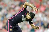 FC Barcelona's Luis Suarez during La Liga match. August 28,2016. (ALTERPHOTOS/Acero) /NORTEPHOTO
