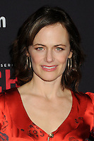"3 March 2016 - West Hollywood, California - Sarah Clarke. Amazon Original Series ""Bosch"" Season 2 Premiere held at the Pacific Design Center. Photo Credit: Byron Purvis/AdMedia"