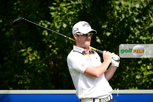 Marc Warren of Scotland during Round 3 of the Lyoness Open, Diamond Country Club, Atzenbrugg, Austria. 11/06/2016<br /> Picture: Richard Martin-Roberts / Golffile<br /> <br /> All photos usage must carry mandatory copyright credit (&copy; Golffile | Richard Martin- Roberts)
