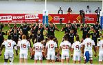 New Zealand 7 v 16 France, Stade D'Honneur du Parc des Sports et de L'Amitie, Narbonne France. World Rugby U20 Championship 2018. Photo Martin Seras Lima