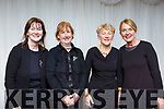 Performing at the Kerry School of Music, Mistletoe & Wine reception at the Rose Hotel on Sunday evening,  members of the Kerry Chamber Choir, l to r, Mary Moynihan, Mary Foley, Geraldine Stack & Lucy Crowe.