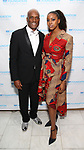 Kenny Leon and Condola Rashad attend the SDC Foundation presents The Mr. Abbott Award honoring Kenny Leon at ESPACE on March 27, 2017 in New York City.