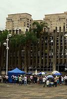 SÃO PAULO, SP, 13 DE FEVEREIRO DE 2012 - JULGAMENTO CASO ELOA  - Forum de Santo Andre onde acontece o julgamento do caso Eloa, na tarde desta segunda-feira, em Snato Andre, na região do ABC. FOTO: ALEXANDRE MOREIRA - NEWS FREE.