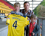 St Johnstone Players Sponsors Night, McDiarmid Park...09.05.12.Jody Morris.Picture by Graeme Hart..Copyright Perthshire Picture Agency.Tel: 01738 623350  Mobile: 07990 594431