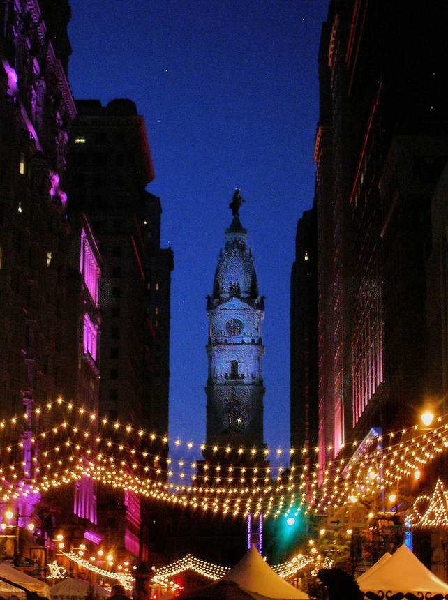 Philly at Night