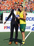 Hockey World Cup 2014<br /> The Hague, Netherlands <br /> Day 14 Men Final Australia v Netherlands<br /> Mark Knowles<br /> <br /> Photo: Grant Treeby<br /> www.treebyimages.com.au