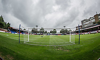 General view of the stadium ahead of the pre season friendly match between Aldershot Town and Wycombe Wanderers at the EBB Stadium, Aldershot, England on 22 July 2017. Photo by Andy Rowland.