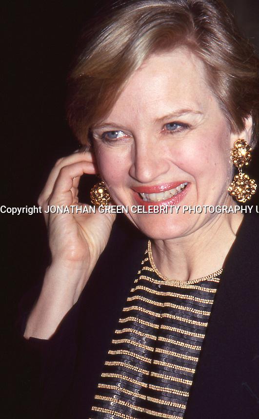 Diane Sawyer 1993 by Jonathan Green