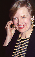 Diane Sawyer 1993 by Jonathan Green