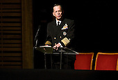 Chairman of the Joint Chiefs of Staff, Admiral Michael Mullen speaks at the memorial service for Ambassador Richard Holbrooke held at the Kennedy Center in Washington, D.C. on Friday, January 14, 2011. Holbrooke passed away in December after undergoing surgery to repair a tear in his aorta. .Credit: Kristoffer Tripplaar  / Pool via CNP