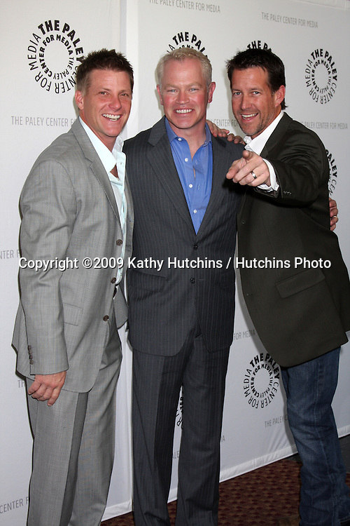 Doug Savant, Neal McDonough, and James Denton arriving at the Desperate Housewives PaleyFest09 event on April 15 ,2009 at the ArcLight Theaters in Los Angeles, California..©2009 Kathy Hutchins / Hutchins Photo....                .