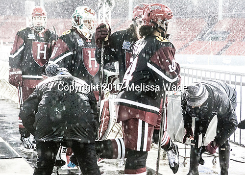 - The Boston College Eagles defeated the Harvard University Crimson 3-1 on Tuesday, January 10, 2017, at Fenway Park in Boston, Massachusetts.The Boston College Eagles defeated the Harvard University Crimson 3-1 on Tuesday, January 10, 2017, at Fenway Park.