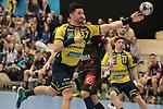 Rhein Neckar Loewe Alexander Petersson (Nr.32) beim Torschuss beim Spiel in der Handball Champions League, Rhein Neckar Loewen - HBC Nantes.<br /> <br /> Foto &copy; PIX-Sportfotos *** Foto ist honorarpflichtig! *** Auf Anfrage in hoeherer Qualitaet/Aufloesung. Belegexemplar erbeten. Veroeffentlichung ausschliesslich fuer journalistisch-publizistische Zwecke. For editorial use only.