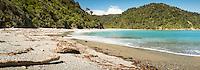 Smoothwater Bay near Jackson Bay, South Westland, West Coast, South Island, UNESCO World Heritage Area, New Zealand, NZ
