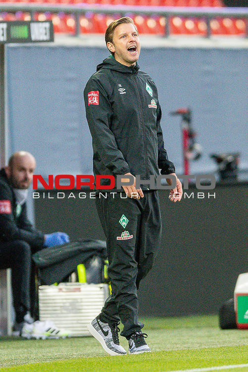 Florian Kohfeldt, Trainer (SV Werder Bremen),<br /> <br /> GER, FC Heidenheim vs. Werder Bremen, Fussball, Bundesliga Religation, 2019/2020, 06.07.2020,<br /> <br /> DFB/DFL regulations prohibit any use of photographs as image sequences and/or quasi-video., <br /> <br /> <br /> Foto: EIBNER/Sascha Walther/Pool/gumzmedia/nordphoto