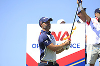 Paul Waring (ENG) on the 3rd tee during Round 1 of the HNA Open De France at Le Golf National in Saint-Quentin-En-Yvelines, Paris, France on Thursday 28th June 2018.<br /> Picture:  Thos Caffrey | Golffile