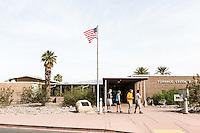 Furnace Creek Visitors Center. Death Valley National Park, California.