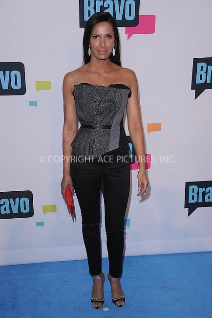 WWW.ACEPIXS.COM . . . . . .April 3, 2013...New York City...Padma Lakshmi attends the 2013 Bravo New York Upfront at Pillars 37 Studios on April 3, 2013 in New York City ....Please byline: KRISTIN CALLAHAN - ACEPIXS.COM.. . . . . . ..Ace Pictures, Inc: ..tel: (212) 243 8787 or (646) 769 0430..e-mail: info@acepixs.com..web: http://www.acepixs.com .