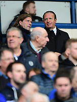 Bolton Wanderers' chairman Ken Anderson, right, seen prior to the game<br /> <br /> Photographer Chris Vaughan/CameraSport<br /> <br /> The EFL Sky Bet Championship - Sheffield Wednesday v Bolton Wanderers - Saturday 10th March 2018 - Hillsborough - Sheffield<br /> <br /> World Copyright &copy; 2018 CameraSport. All rights reserved. 43 Linden Ave. Countesthorpe. Leicester. England. LE8 5PG - Tel: +44 (0) 116 277 4147 - admin@camerasport.com - www.camerasport.com