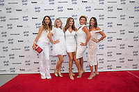 Courtney Sixx, Liz Roman, Heather McDonald, Laney Ziv and Tara Klein attend the 10th Annual White Light White Night Charity Fundraiser Benefiting Walk With Sally at TheRooftopof the Plaza at Continental Park in El Segundo, CA on Saturday, July 23, 2016 (Photo by Inae Bloom/Guest of a Guest)
