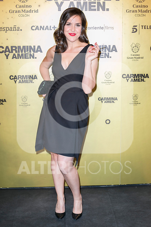 "Spanish singer Roco attend the Premiere of the movie ""Carmina y Amen"" at the Callao Cinema in Madrid, Spain. April 28, 2014. (ALTERPHOTOS/Carlos Dafonte)"