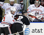 Tyler McNeely (Northeastern - 94), Kevin Hart (Providence - 2) - The Northeastern University Huskies defeated the visiting Providence College Friars 5-0 on Saturday, November 20, 2010, at Matthews Arena in Boston, Massachusetts.