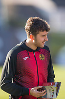 8th February 2020; Dens Park, Dundee, Scotland; Scottish Championship Football, Dundee versus Partick Thistle; Dario Zanatta of Partick Thistle inspects the pitch before the match