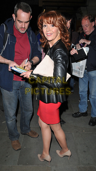 LONDON, ENGLAND - MAY 28: Bonnie Langford attends the &quot;Just Jim Dale&quot; press night, Vaudeville Theatre, The Strand, on Thursday May 28, 2015 in London, England, UK. <br /> CAP/CAN<br /> &copy;Can Nguyen/Capital Pictures