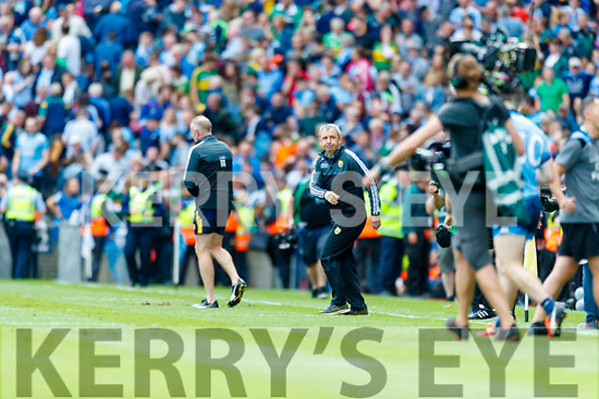 Kerry Manager Peter Keane after the GAA Football All-Ireland Senior Championship Final match between Kerry and Dublin at Croke Park in Dublin on Sunday.