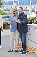 "Stacy Keach & John Travolta at the photocall for ""Gotti"" at the 71st Festival de Cannes, Cannes, France 15 May 2018<br /> Picture: Paul Smith/Featureflash/SilverHub 0208 004 5359 sales@silverhubmedia.com"