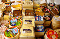 Cheese Stall Honfleur market France