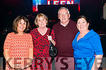 L-R Sheila Diggins, Eleanor Sugrue, Jimmy Diggins and Gloria Neumann all from Tralee at the DJ Curtin and Mark Leen concert in the INEC Killarney last Sunday night.