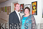 Soprano Miriam Murphy and Niall Baker who performed to a packed audience at Siamsa Tíre, Tralee, on Sunday night last.