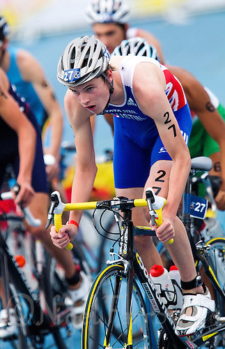 11 SEP 2011 - BEIJING, CHN - Marc Austin (GBR) - Junior Men's 2011 ITU World Triathlon Championships (PHOTO (C) NIGEL FARROW)