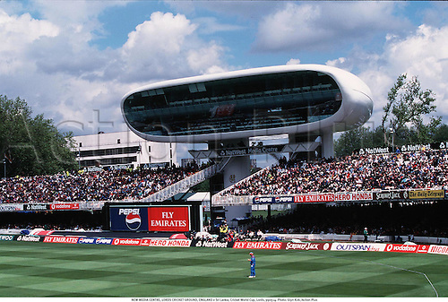 NEW MEDIA CENTRE, LORDS CRICKET GROUND, ENGLAND v Sri Lanka, Cricket World Cup, Lords, 990514. Photo: Glyn Kirk/Action Plus...1999.grounds.venue venues
