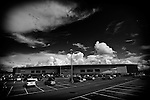 Pix: Shaun Flannery/shaunflanneryphotography.com...COPYRIGHT PICTURE>>SHAUN FLANNERY>01302-570814>>07778315553>>..25th August 2012..Heavy clouds over The Keepmoat Stadium, Doncaster.