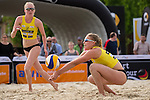 08.05.2015, Muenster, Schlossplatz<br /> smart beach tour, Supercup MŸnster / Muenster, Qualifikation<br /> <br /> Annahme Lisa Arnholdt <br /> <br />   Foto &copy; nordphoto / Kurth