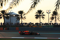 30th November 2019; Yas Marina Circuit, Abu Dhabi, United Arab Emirates; Formula 1 Abu Dhabi Grand Prix, qualifying day; Aston Martin Red Bull Racing, Max Verstappen - Editorial Use