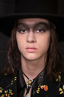 R13 Fall 2020 Ready-to-Wear Collection backstage at fashion show at New York Fashion Week,  New York, USA in February 2020.<br /> CAP/GOL<br /> ©GOL/Capital Pictures
